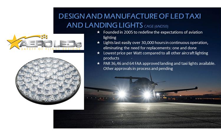 Aero LEDs slide
